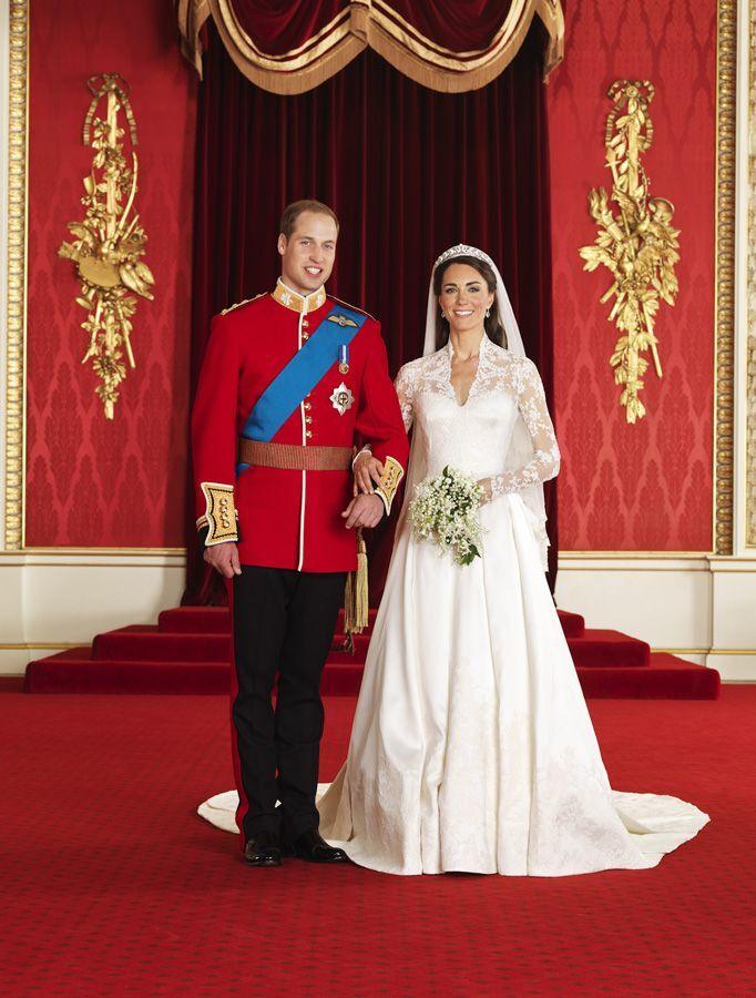 Официальные свадебные фото герцога и герцогини Кембриджских: принца Уильяма и Кейт Мидлтон