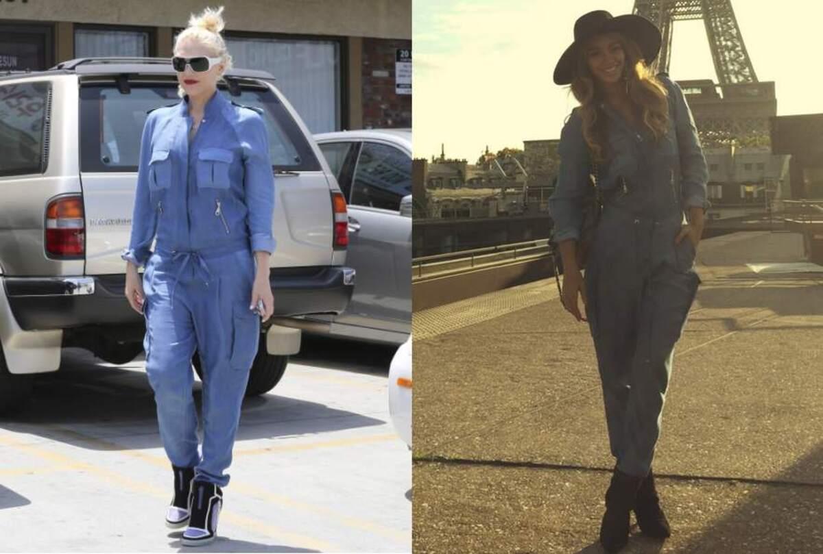 Fashion battle: Гвен Стефани и Бейонсе