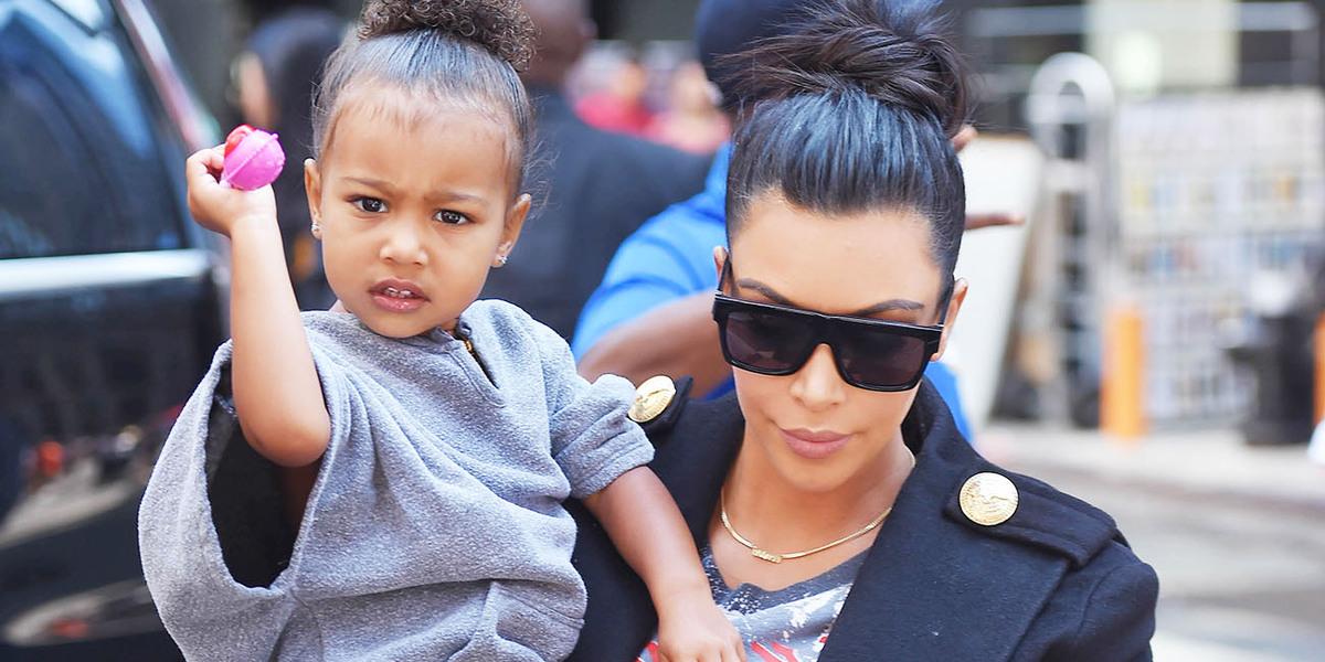 Ким Кардашьян отправила трехлетнюю дочь Норт к психотерапевту