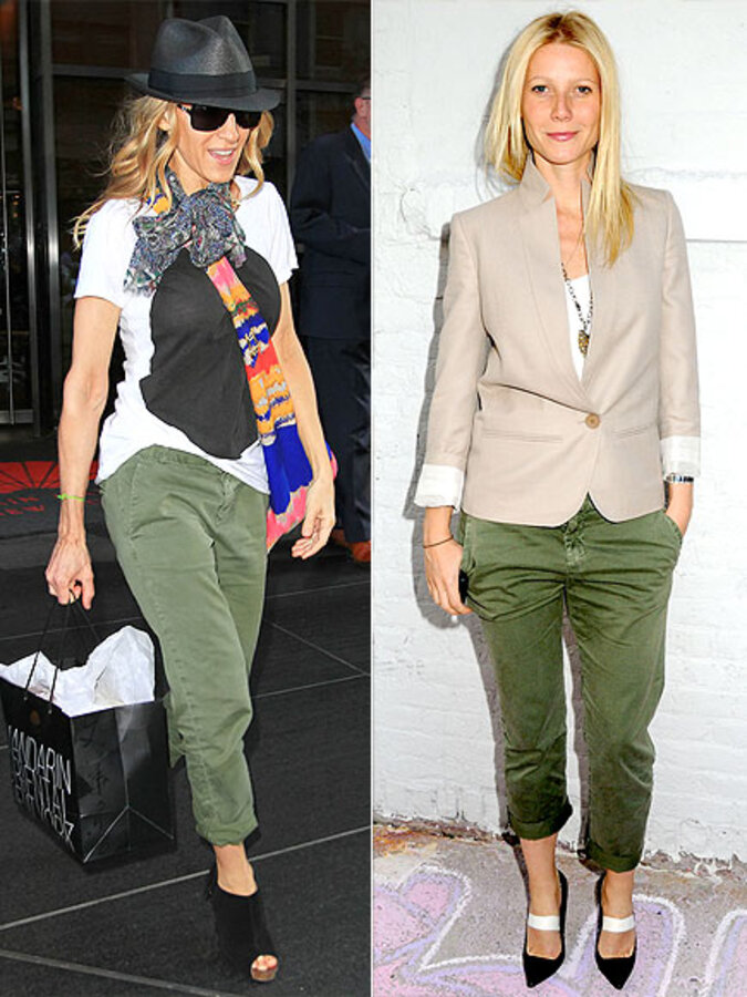 Fashion battle: Сара Джессика Паркер и Гвинет Пэлтроу