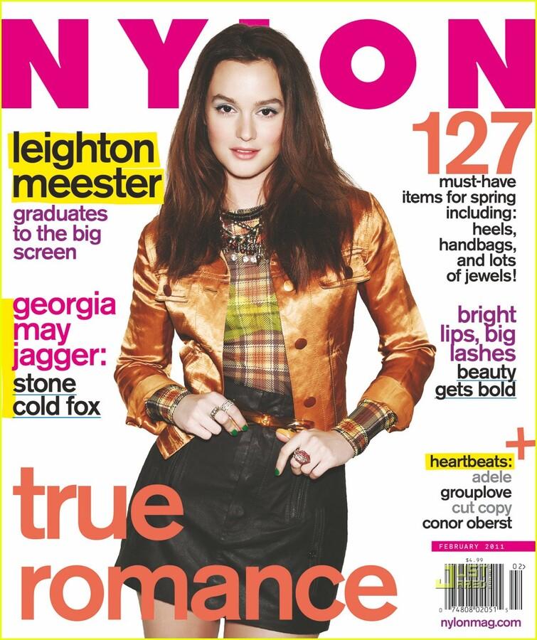 Лейтон Мистер в журнале Nylon. Февраль 2011