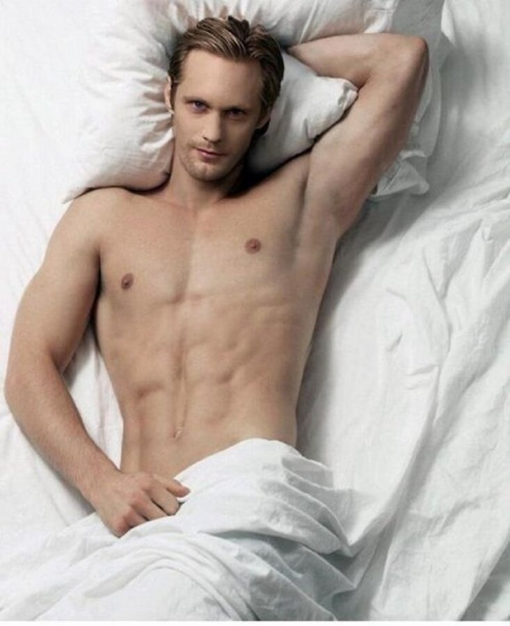 Александр Скарсгард: я снимаюсь абсолютно голым!