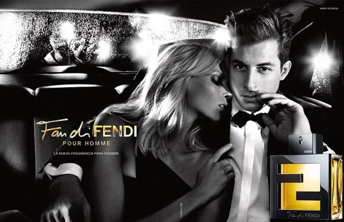 Первый взгляд на рекламную кампанию мужского аромата от Fendi