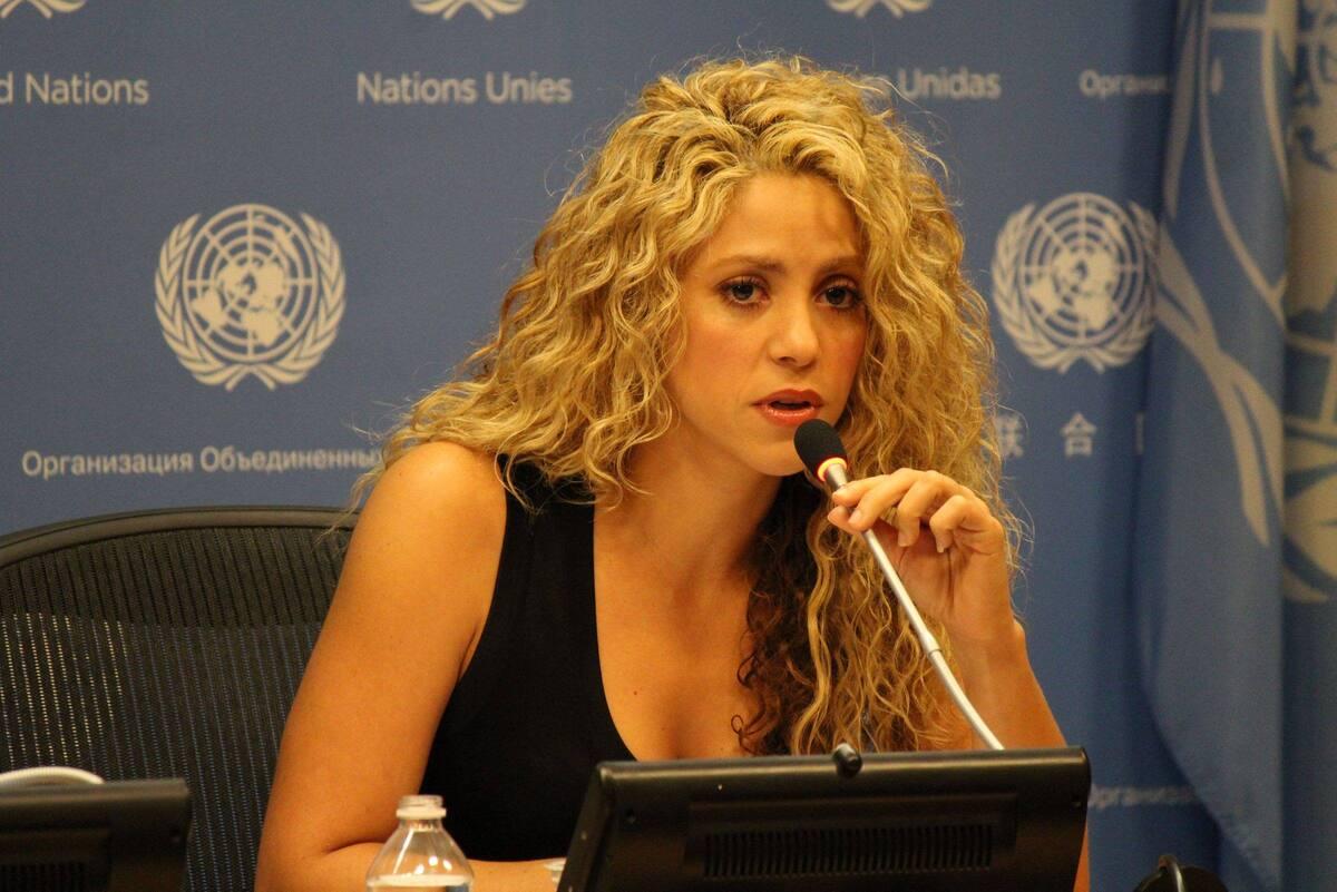 Шакира снялась в рекламном ролике компьютерной игры