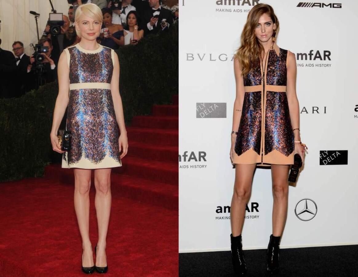 Fashion battle: Мишель Уильямс и Кьяра Ферраньи