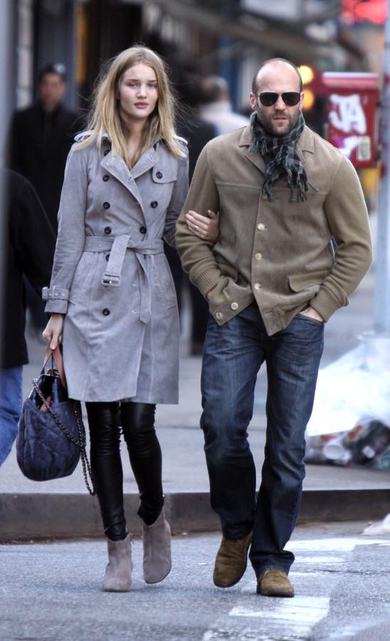 Джейсон Стэтэм и Роузи Хантингтон-Уайтли: осень в Нью-Йорке