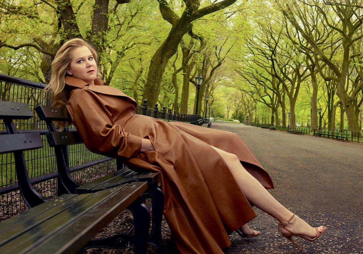 Эми Шумер в журнале Vogue, июль 2016