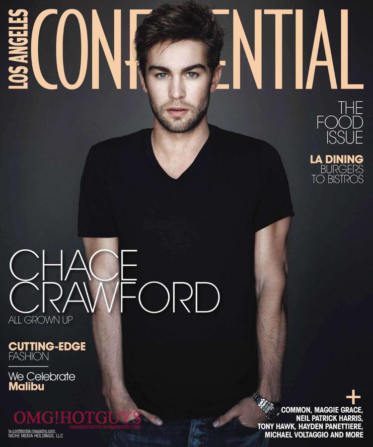 Чейс Кроуфорд в журнале Los Angeles Confidential
