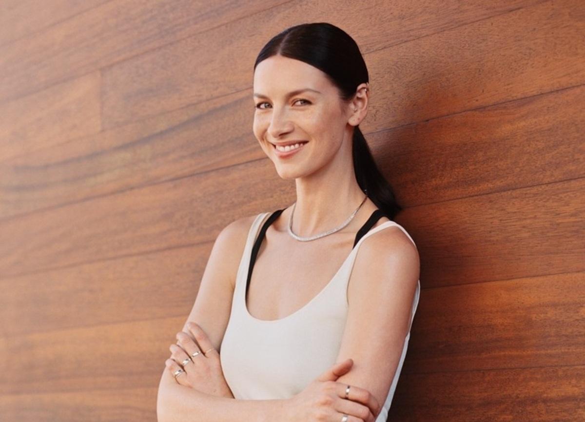 Звезда сериала «Чужестранка» Катрина Балф в фотосессии для InStyle, апрель 2016