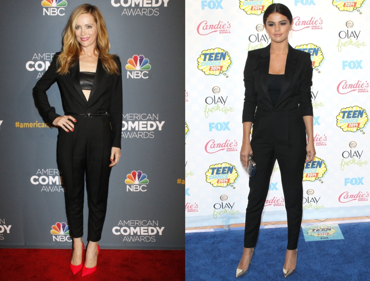 Fashion battle: Лесли Манн и Селена Гомес