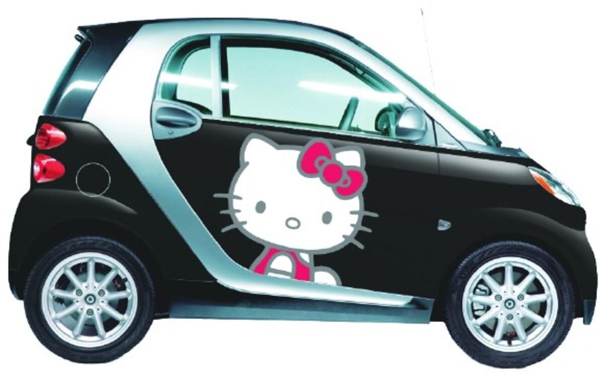 Интересные штучки: купи машину в стиле Hello Kitty