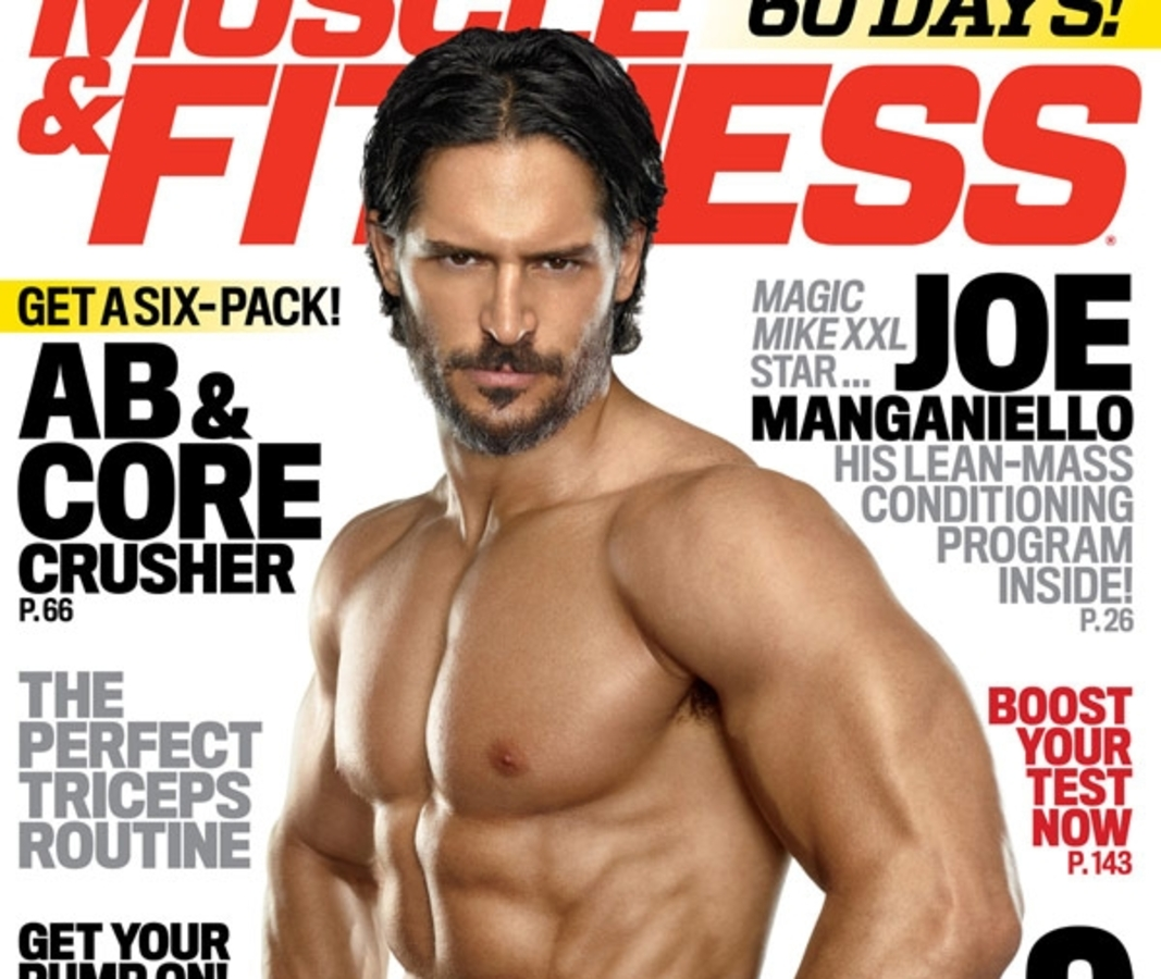 Джо Манганьелло показал мышцы в журнале Muscle & Fitness