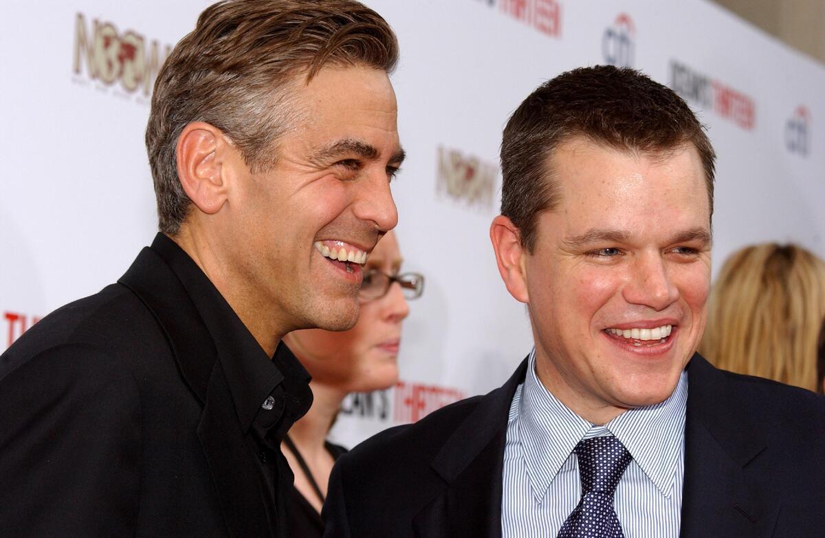 Джордж Клуни одурачил Мэтта Дэймона