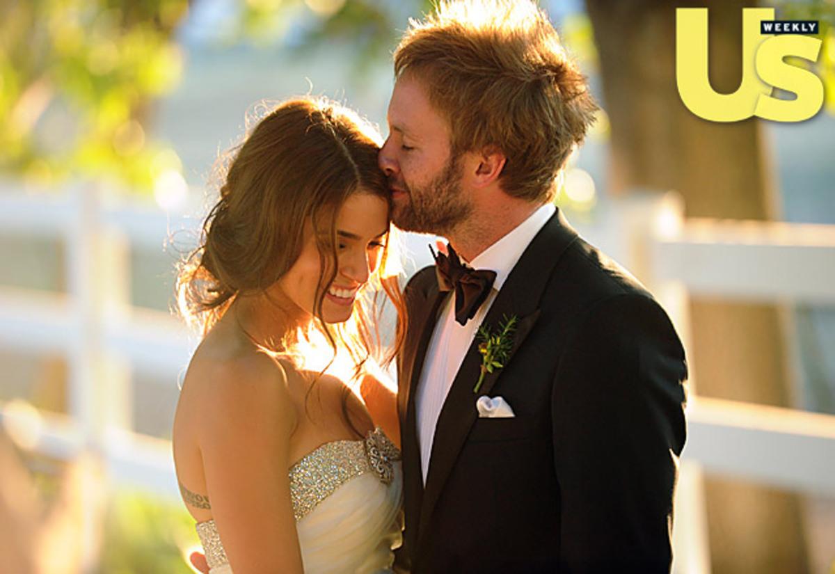 Фотографии со свадьбы Никки Рид и Пола МакДональда