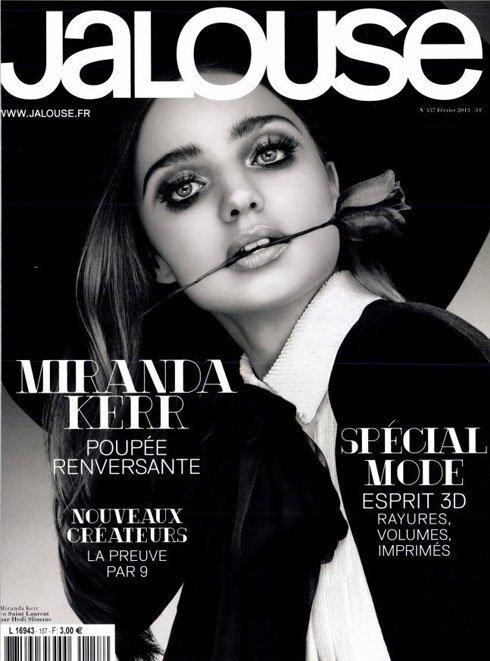 Миранда Керр в журнале Jalouse. Февраль 2013