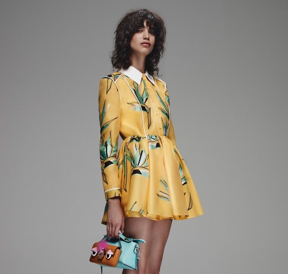 Новая коллекция Fendi Pre-Fall 2015