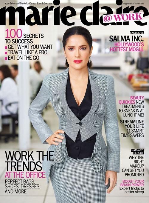 Сальма Хайек в журнале Marie Claire Work. Май 2012