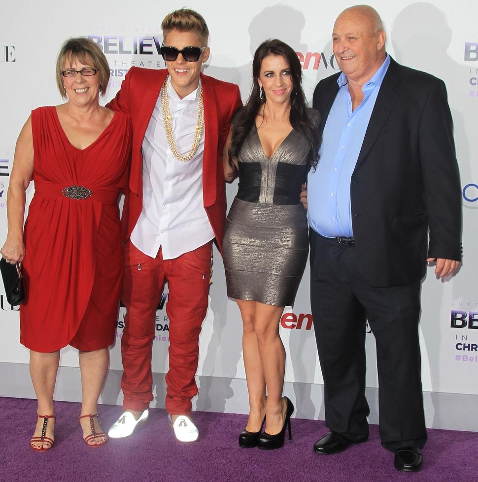 Премьера фильма «Джастин Бибер: Believe» в Лос-Анджелесе