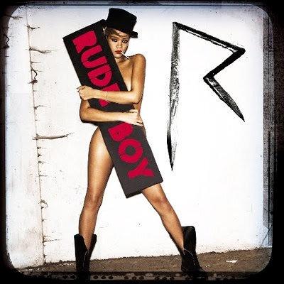 Обложка сингла Рианны Rude Boy