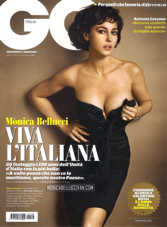 Моника Беллуччи в журнале GQ Италия. Март 2011