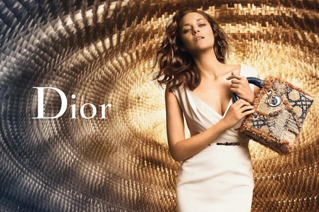 Первый взгляд на Марион Котийяр в новой рекламной кампании Lady Dior