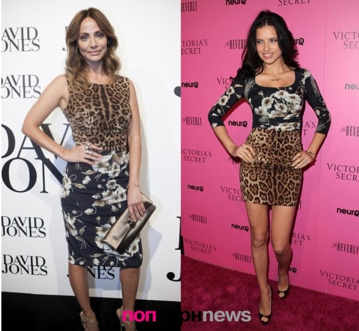 Fashion Battle: Натали Имбрулия и Адриана Лима