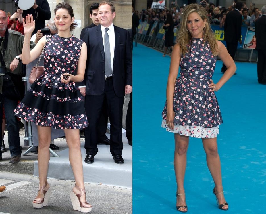 Fashion battle: Марион Котийяр и Дженнифер Энистон