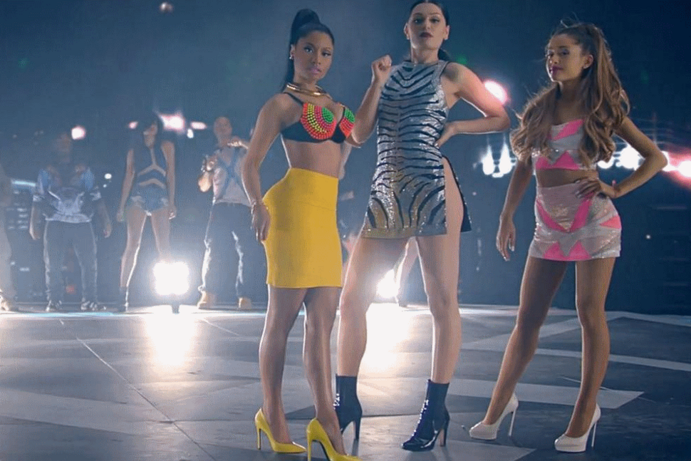 Новый клип Ники Минаж, Арианы Гранде и Jessie J - Bang Bang