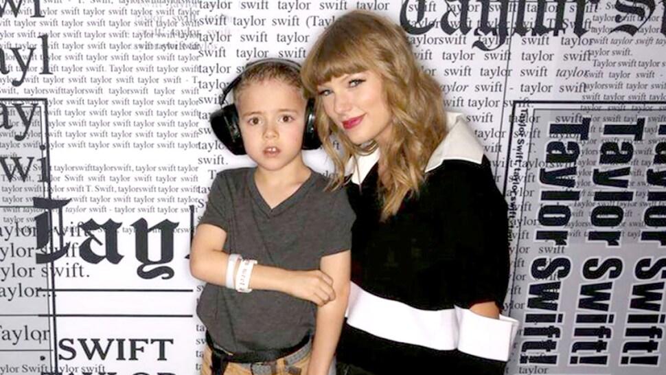 Тейлор Свифт помогла 5-летнему мальчику с аутизмом