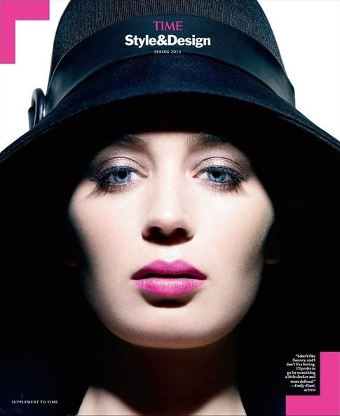 Эмили Блант в журнале TIME Style and Design. Весна 2012
