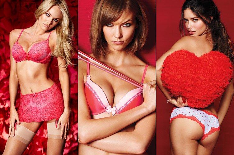 Коллекция нижнего белья Victoria's Secret ко Дню Святого Валентина