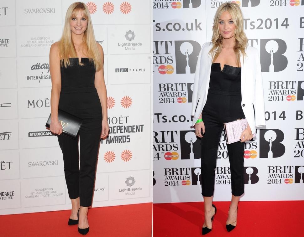 Fashion battle: Джоанн Фроггатт и Лора Уитмор
