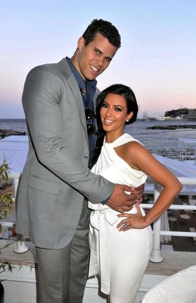 Ким Кардашиан с женихом в Монако