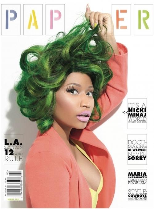 Ники Минаж в журнале Paper Magazine. Весна 2012