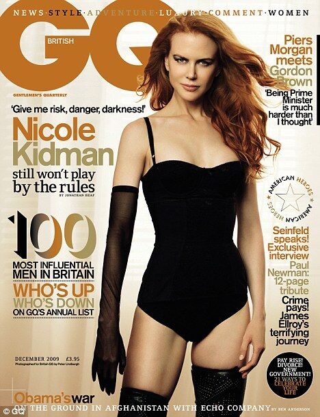 Николь Кидман рассказала о себе журналу GQ