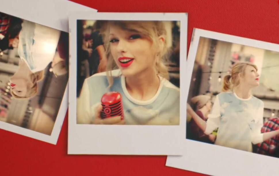 Тейлор Свифт представила свою новую песню Style в рекламном ролике  Target