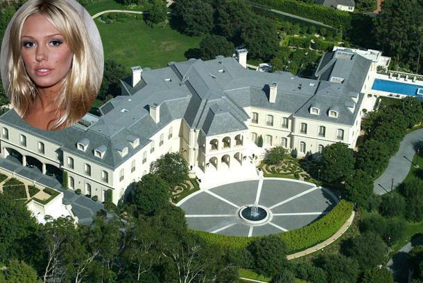 150-миллионный особняк Аарона Спеллинга продан 22-летней наследнице