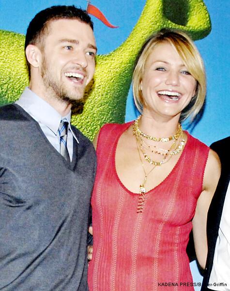 Джастин Тимберлейк и Кэмерон Диаз встретятся на съемочной площадке
