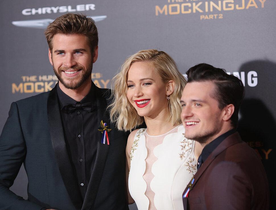 Фото: звезды «Голодных игр» на премьере «Сойки-пересмешницы – часть 2» в Лос-Анджелесе