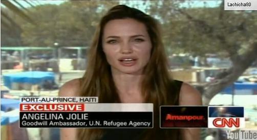 Видео: интервью с Анджелиной Джоли на Гаити
