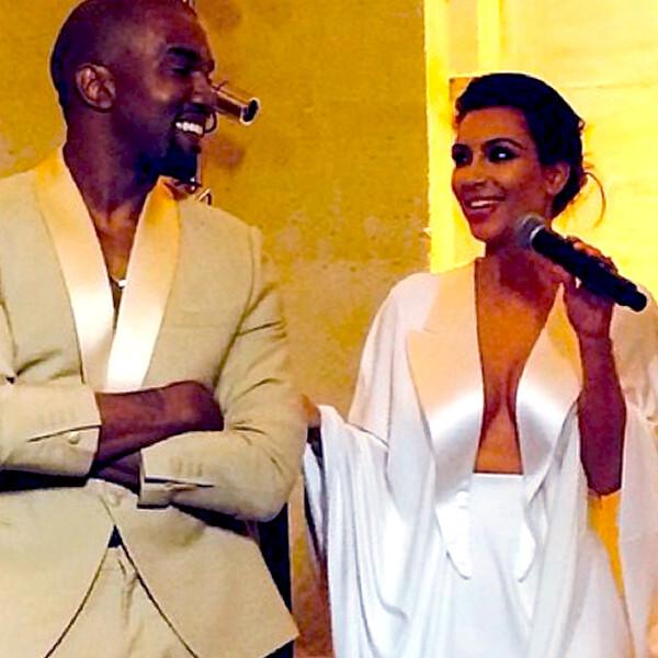 Ким Кардашян и Канье Уэст наконец-то поженились: подробности звездной свадьбы