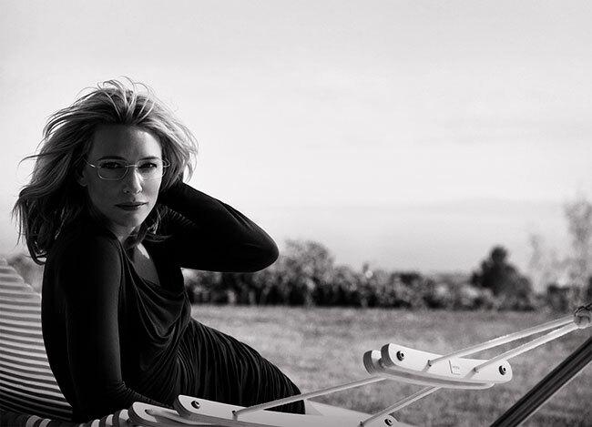 Кейт Бланшетт — новое лицо очков Silhouette