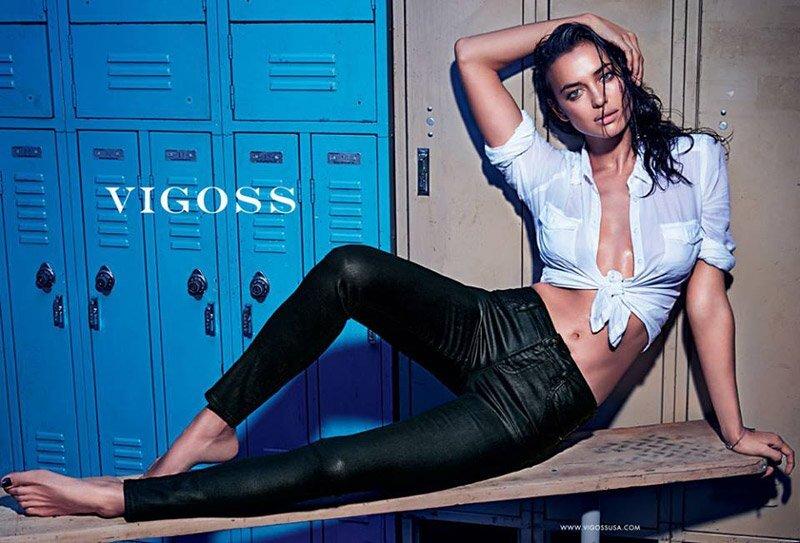 Ирина Шейк в рекламе джинсов Vigoss