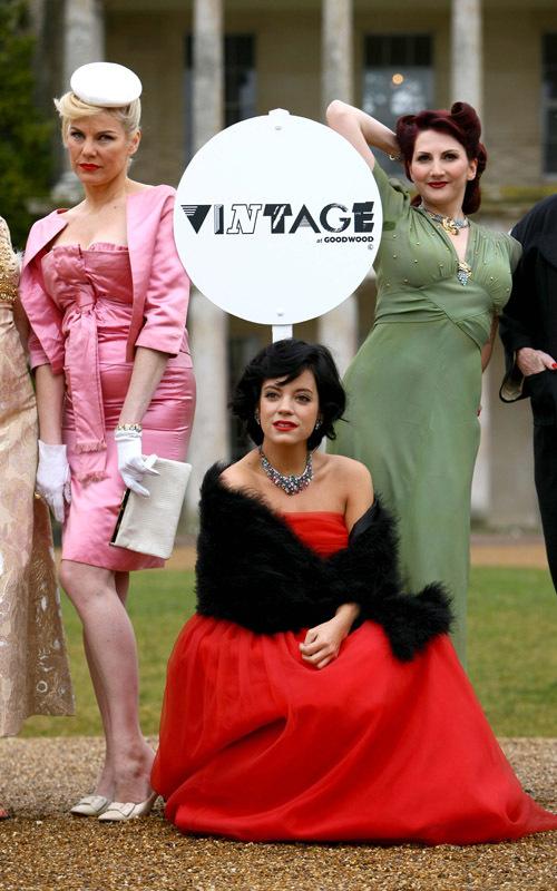 Фотосессия Лили Аллен для фестиваля Vintage at Goodwood