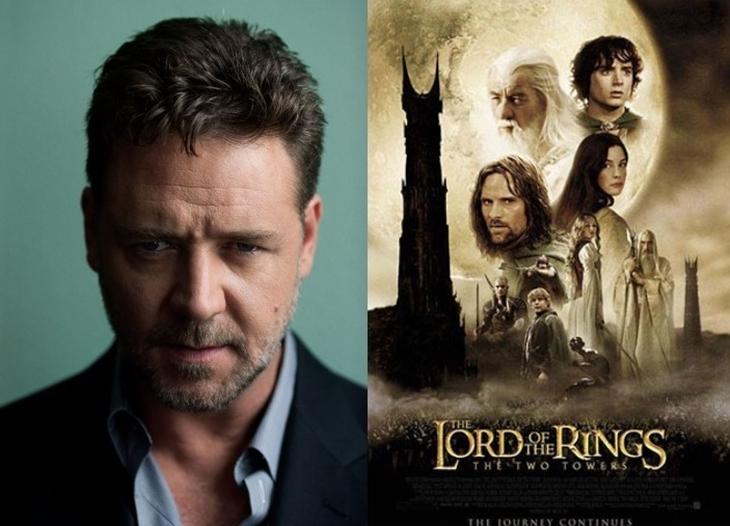 Рассел Кроу рассказал, почему отказался от роли Арагорна во «Властелине колец»