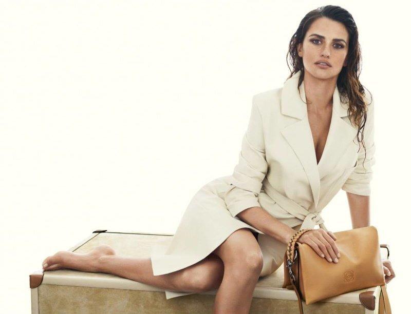 Пенелопа Крус в рекламной кампании Loewe. Весна-Лето 2014