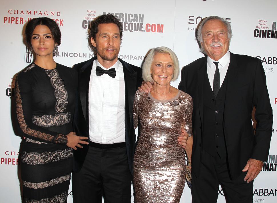 Звездный год Мэттью МакКонахи: актер получил награду American Cinematheque