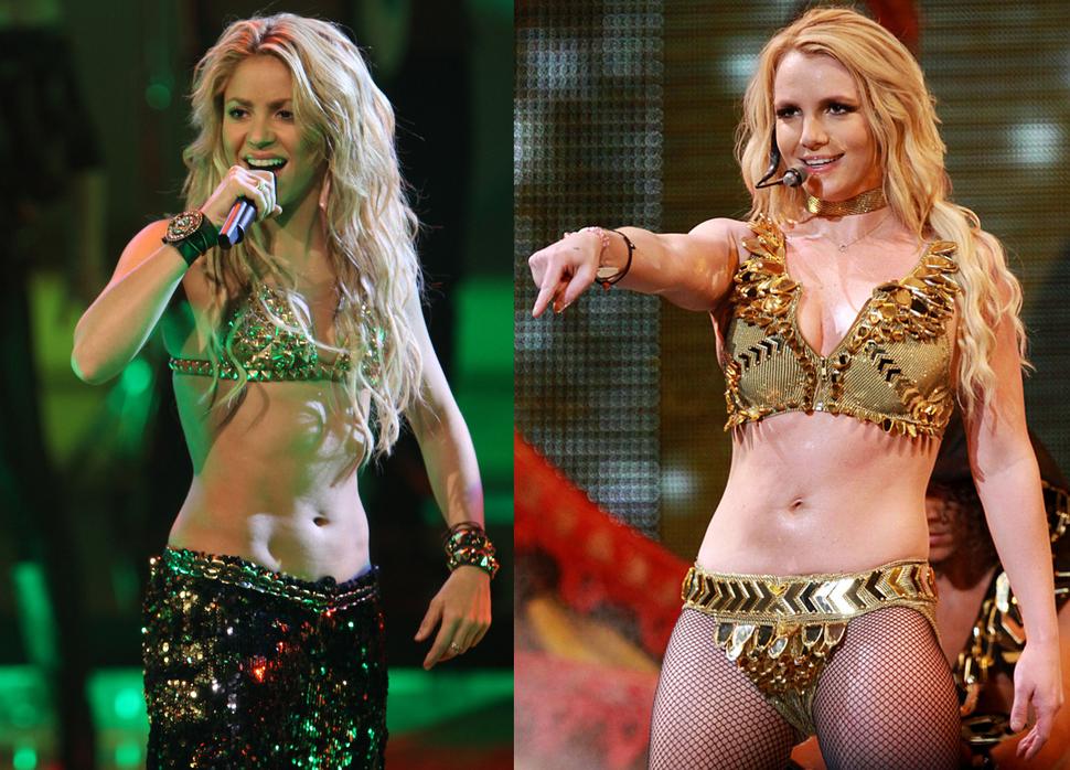 Шакира и Бритни Спирс запишут дуэт