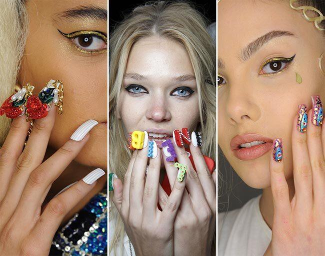 Модные ногти весна-лето 2016: фото новинок маникюра для коротких и нарощенных ногтей