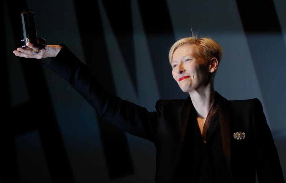 Тильда Суинтон получила награду Дуглас Сирк